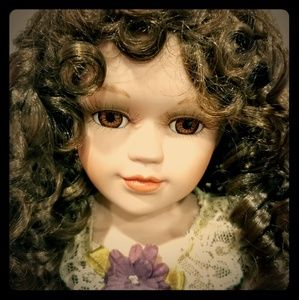 Vintage Porcelain Doll Ellen